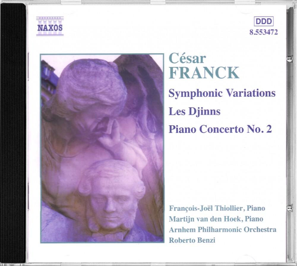 Franck: Piano Concerto in b, Naxos 8.553472