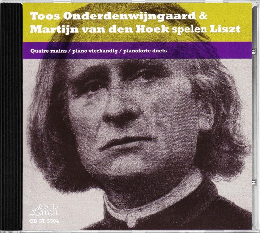 Liszt: Works for Piano Duet, Editio Laran