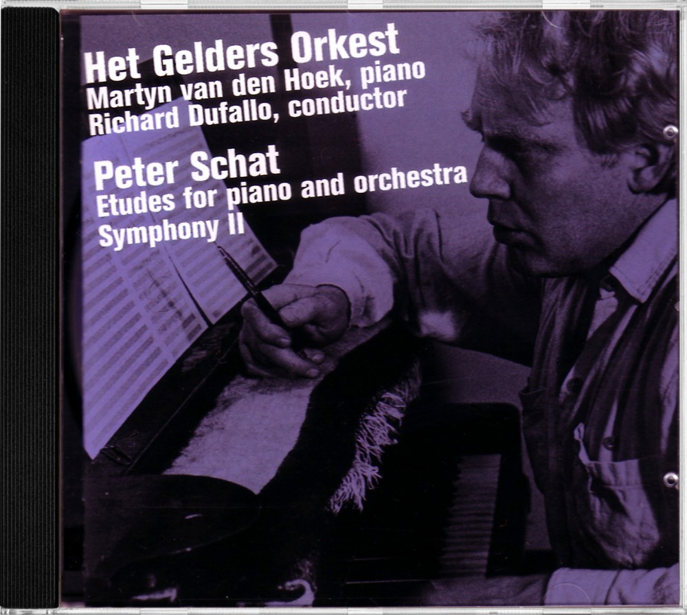 Schat: Etudes for Piano and Orchestra, Donemus Jubilee CV 76