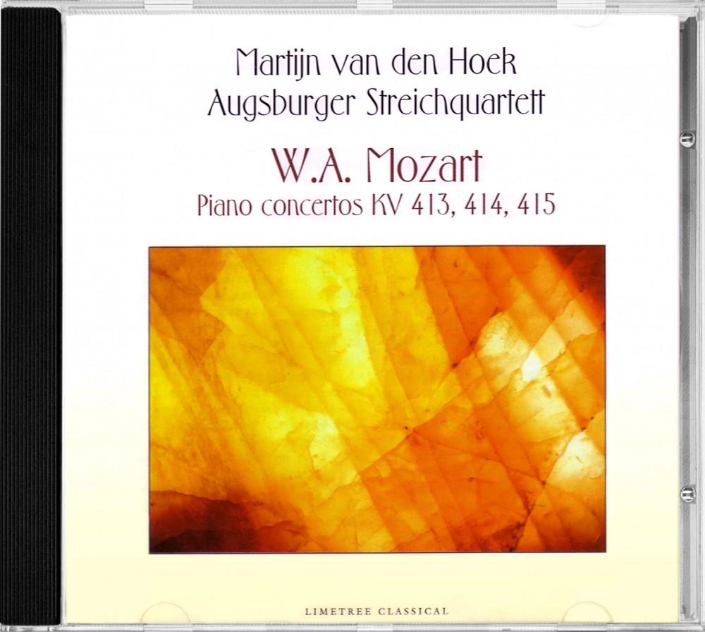 Mozart, Piano Concertos, Limetree Records 1-042