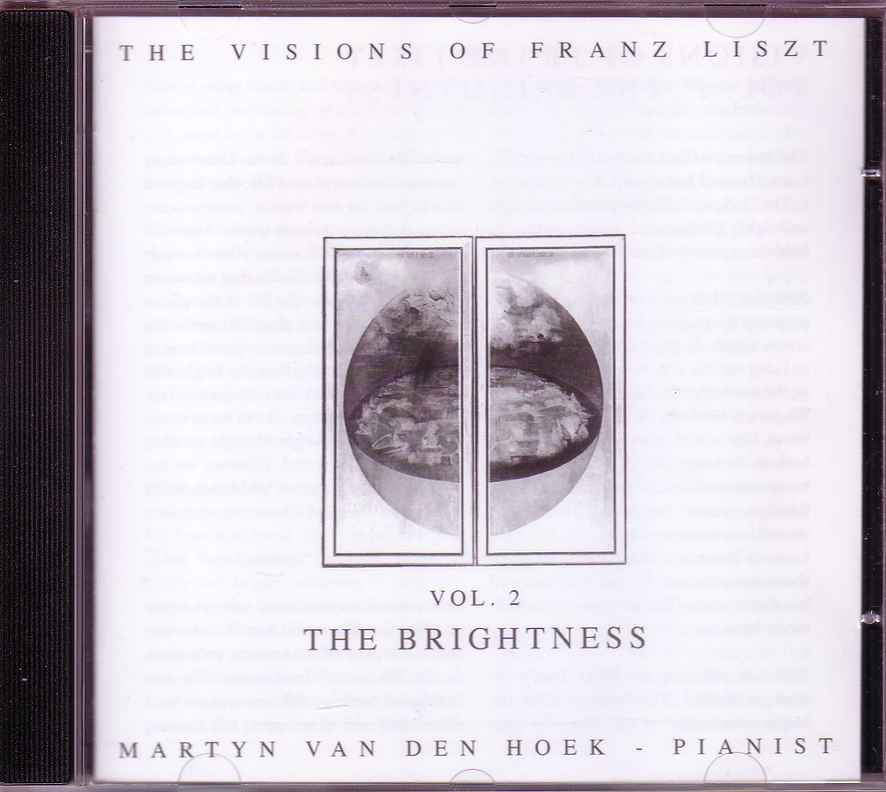 "The Visions of Franz Liszt Vol.2 ""The Brightness"", MZCD2011/2"