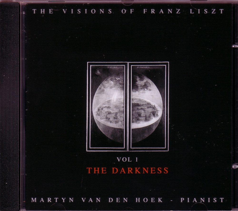 "The Visions of Franz Liszt ""The Darkness"", Martyn van den Hoek - Pianist"