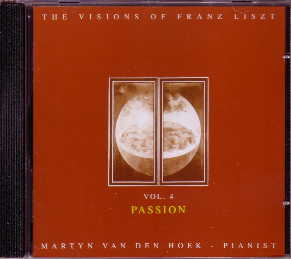 "The Visions of Franz Liszt Vol.4 ""The Passion"", MZCD 2011/4"